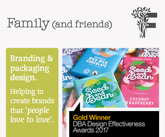 Family (and Friends) branding